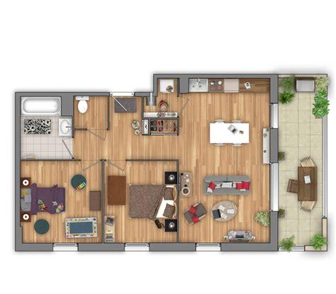 t3 combien de chambre plans de vente 3d pour l 39 immobilier neuf 3dms