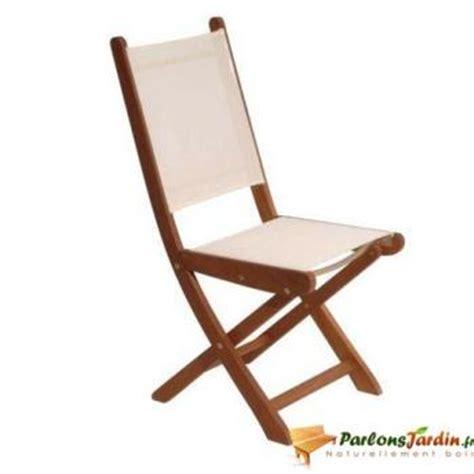 chaise pliante toile cing mediterranee bois tous les objets de décoration sur