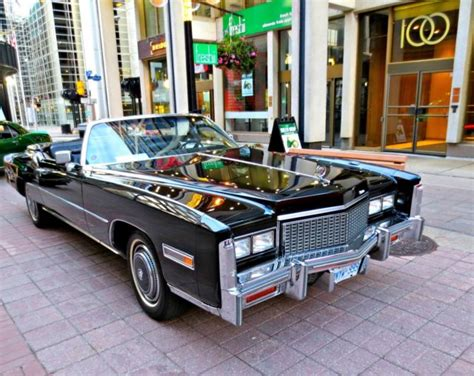 cadillac eldorado convertible triple black hard