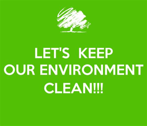 how to keep let s keep our environment clean poster sindhuja