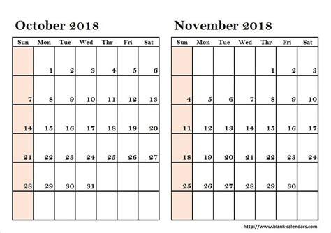 pin   calendrier  october november  calendar