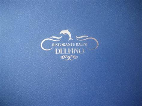 bagni ristorante menu picture of ristorante bagni delfino sorrento