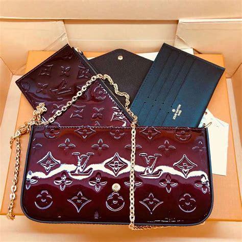louis vuitton lv women sarah wallet  monogram vernis patent calf lulux