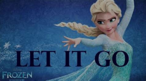 Let It Go In Old English