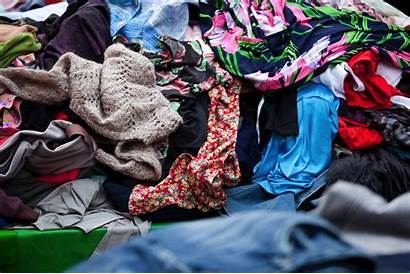 Clothes Unwanted Donate Recycling Clothing Jumble Gone