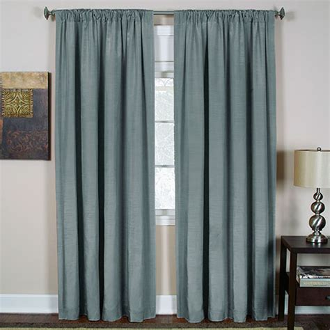 cachet curtain panel blue boscov s