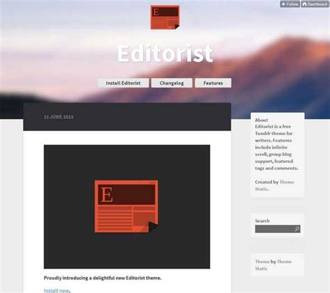 Free Themes With Infinite Scroll 30 Free Themes To Build A Better Utemplates