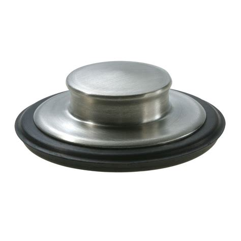 kitchen sink stopper that works garbage disposal air switch in brushed stainless i5580 bs
