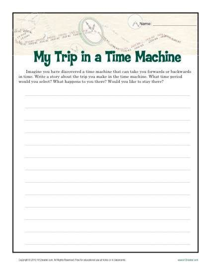 Descriptive Essay Topics For 6th Graders by My Time Machine Trip Circle Skirts Creative Writing