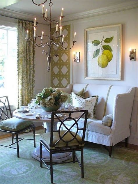 Settee In Kitchen by Best 25 Settee Dining Ideas On Formal Dinning