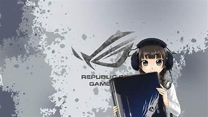 Anime Asus Rog Gamers Republic Gaming Wallpapers