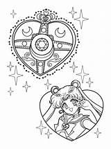 Coloring Sailormoon Sailor Moon Per sketch template
