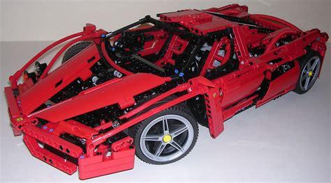 Techlugfr  Review Lego Technic #8653 Ferrari Enzo