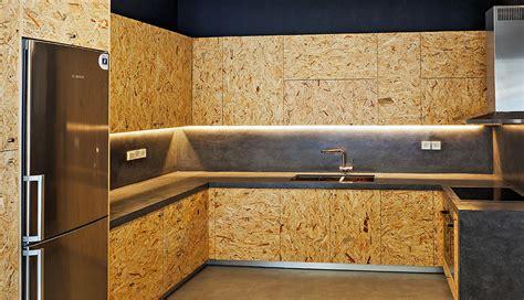 mobili cucina  obs osb casa cocina madera muebles