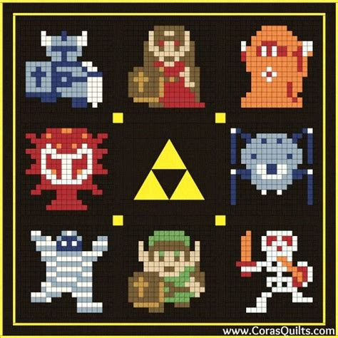 Legend Of Zelda Free Quilt Along And Block Of The Month