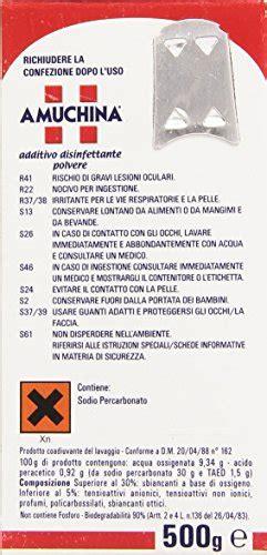 amuchina additive powder bactericidal action fungicidal