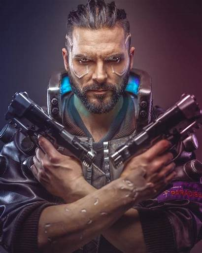 Cyberpunk Cosplay 2077 Character Clothes Concept Amzn
