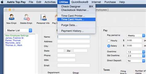 timecard hours aatrix processing payroll using timecard hours