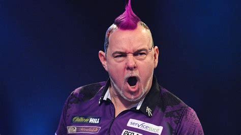 peter wright edged   world darts championship quarter finals darts news sky sports