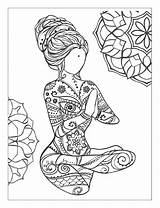 Mindfulness Coloring Pages Meditation Yoga Adult Mandala Books Adults Poses Mandalas Colouring Printable Issuu Bestcoloringpagesforkids Sheets Fun Templates Designs Read sketch template