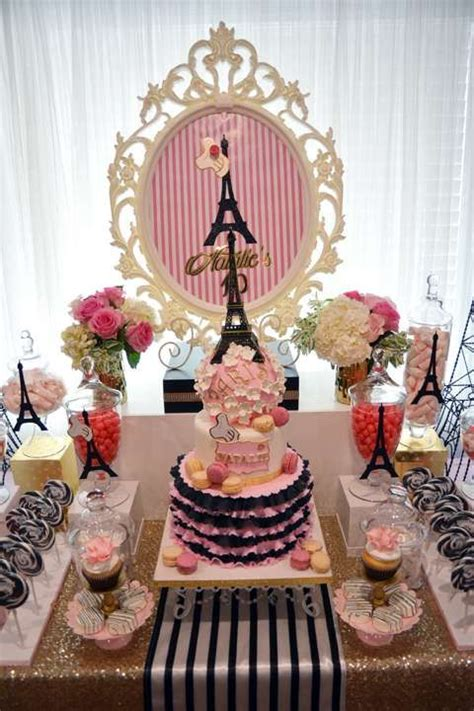 images  french parisian party ideas