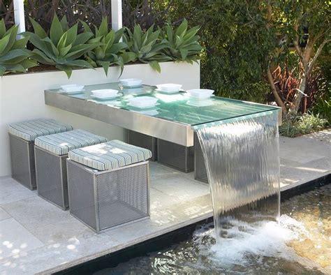 modern garden waterfall modern waterfall ideas that will leave you speechless