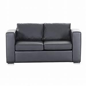 Ledercouch 2 Sitzer : sofa schwarz couch ledersofa ledercouch lounge echtleder 2 sitzer helsinki 0 m bel24 ~ Frokenaadalensverden.com Haus und Dekorationen
