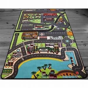Tapis Enfant Route : tapitom tapis enfant voiture 130 x 200 cm ~ Teatrodelosmanantiales.com Idées de Décoration