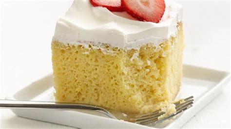 tres leches cake mix healthified tres leches cake