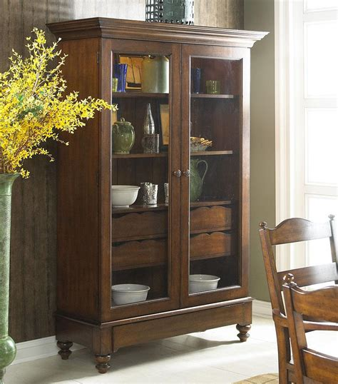Glass Cabinet by Storage Cabinet With Glass Doors Homesfeed