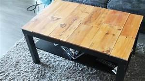 Table Basse Salon Ikea : 25 diy pour une jolie table basse hellocoton ~ Teatrodelosmanantiales.com Idées de Décoration