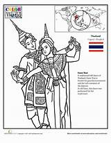 Thailand Coloring Flag Template Dance Doodle Grade Geography Thai Worksheets Worksheet Education Thinking Designlooter Around Printable Sketch Country Studies sketch template