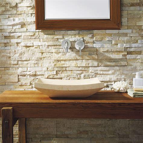 icarus natural stone vessel sink vst  bas bathroom