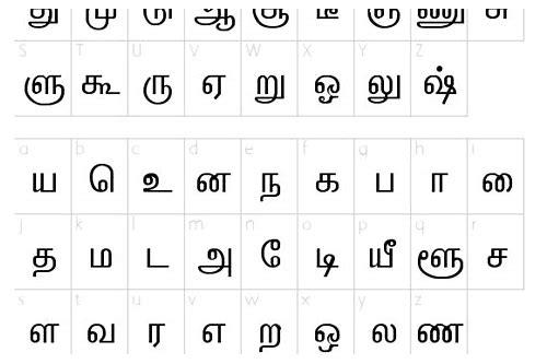 Vanavil tamil font free download for android | vanavil