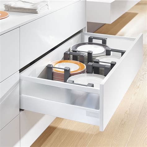 blum kitchen accessories blum plate holder in use 1746