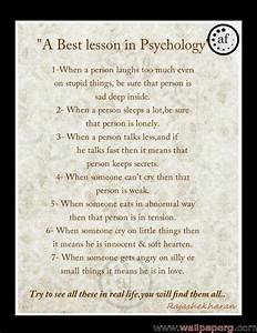 Famous Psycholo... Inspirational Psychological Quotes