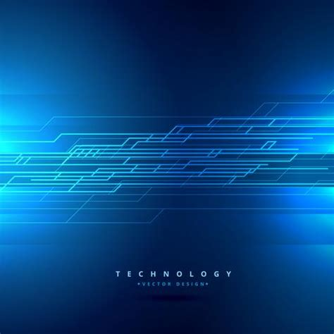 technology background  abstract lines vector design
