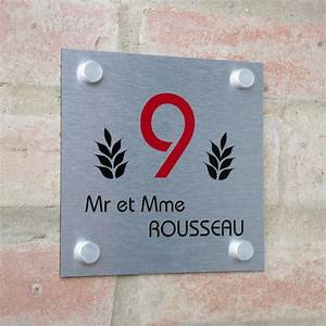 Plaque Numero Maison : plaque de maison pas cher exp sous 48h cr ativ 39 sign ~ Teatrodelosmanantiales.com Idées de Décoration