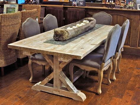 country kitchen furniture reclaimed wood garden trestle table with extensions many