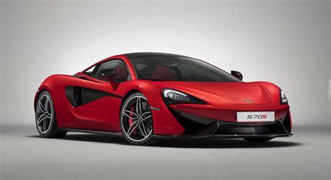 czerwony samochod sportowy mclaren  rocznik