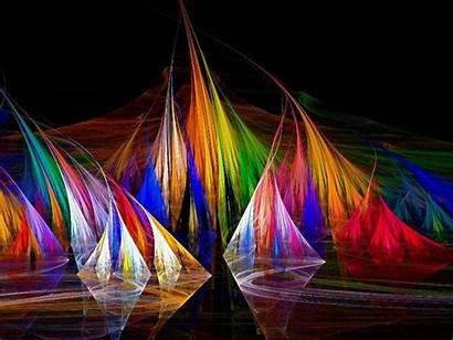 Colorful Wallpapers Fractal Desktop 3d Backgrounds Rainbow