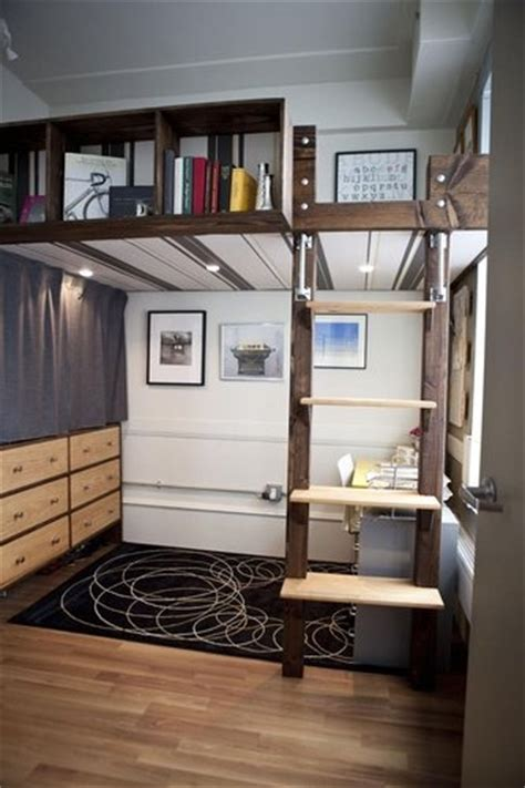 17 Best Images About Loft Beds For Adults On Pinterest