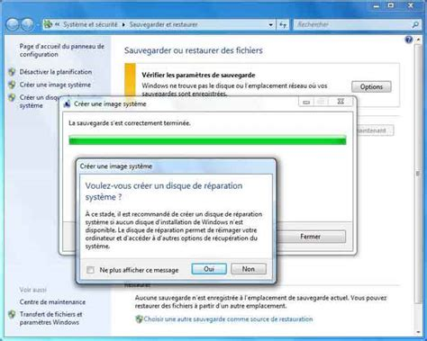 sauvegarde bureau windows 7 sauvegarde windows 7 combien dvd in