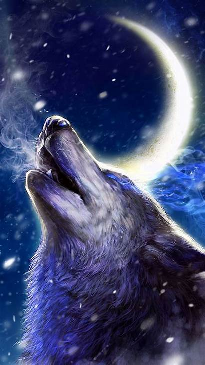 Wolf Howling Wolves Wallpapers Android Wallpaperaccess Backgrounds