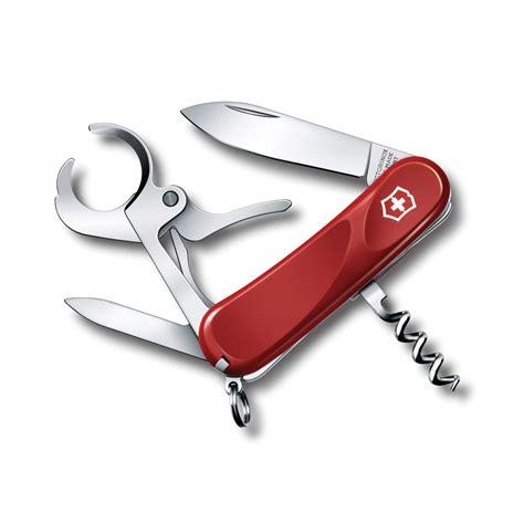 victorinox swiss army cigar  pocket knife  cigar cutter red cutlery