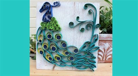 hometalk paper towel roll art  bohemian rustic peacock