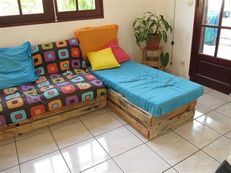 matelas pour canapé palette meilleur de coussin canapé palette idées de salon de jardin