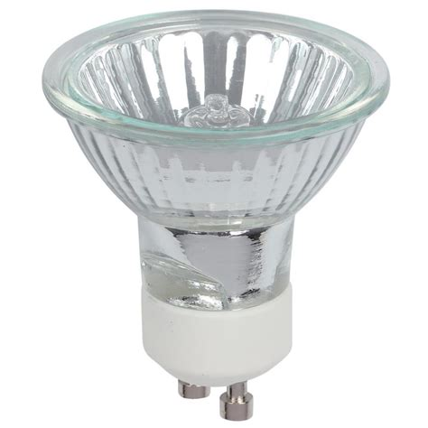 halogen light bulb westinghouse 50 watt halogen mr16 clear lens gu10 base