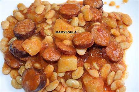cuisine haricot blanc recette de haricots blancs aux saucisses de montbéliard