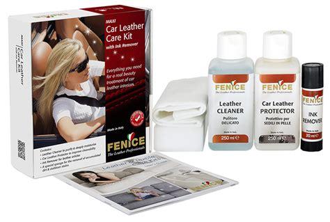 Pulizia Interni In Pelle - kit per la pulizia e la protezione dei sedili in pelle